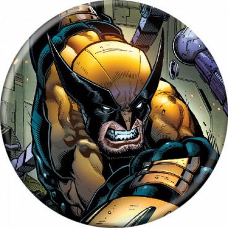 Marvel Comics X-Men Wolverine Character Portrait Button