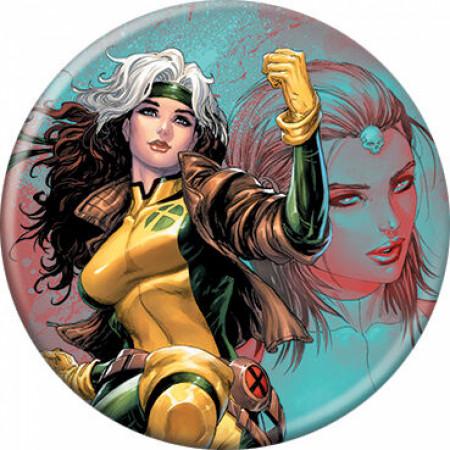 Marvel Comics X-Men Rogue Character Portrait Button