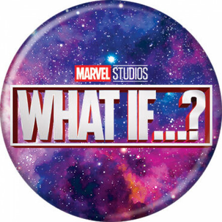 Marvel Studios What If...? Series Galaxy Logo Button
