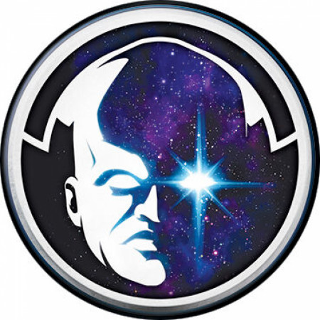 Marvel Studios What If...? Series The Watcher Character Head Button