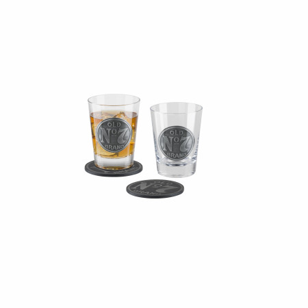 Jack Daniels Double Old Fashioned  2 Piece Set