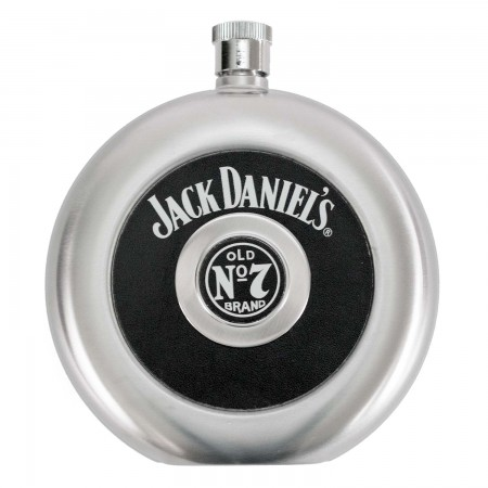 Jack Daniels Flask With Removable Shot