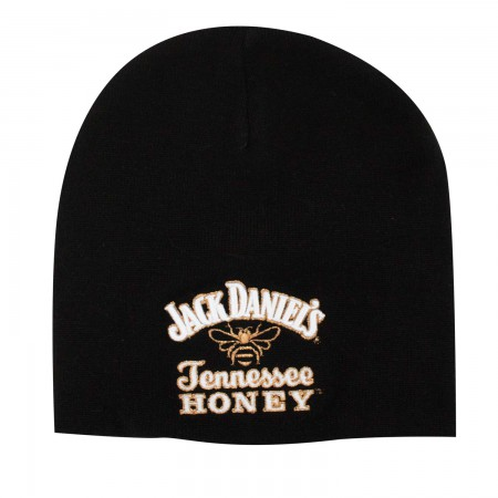 Jack Daniels Winter Tennessee Honey Black Beanie