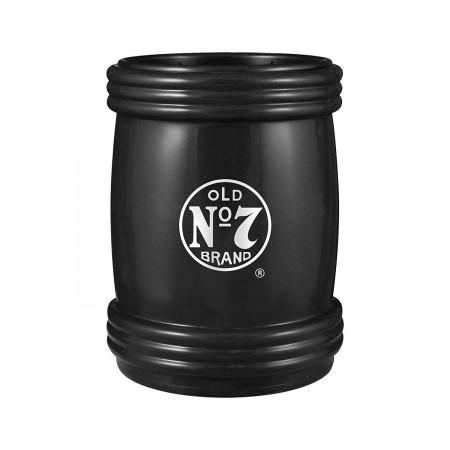 Jack Daniels Black Magna-Coolie Beer Can Insulator
