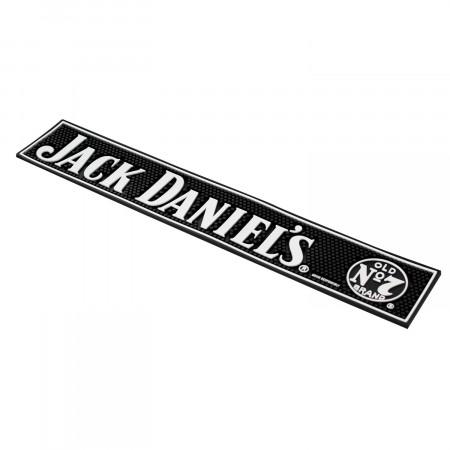 Jack Daniels Black Bar Mat