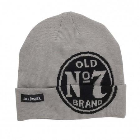 Jack Daniels Grey Old No. 7 Winter Beanie