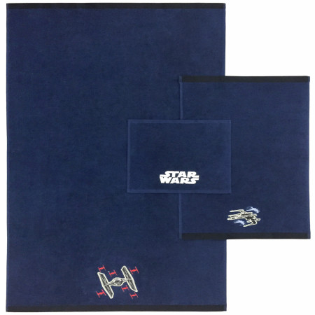 Star Wars 3-Piece Bath Towel Set