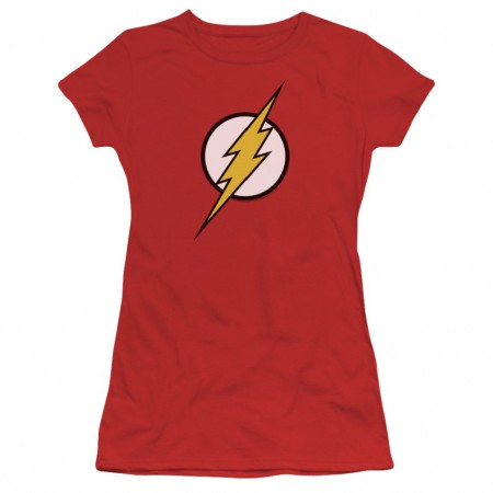 The Flash Classic Logo Women's Red T-Shirt