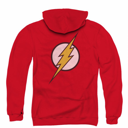 The Flash Men's Red Zip-Up Hoodie