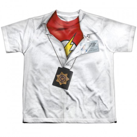 The Flash Hidden Costume Youth Tee