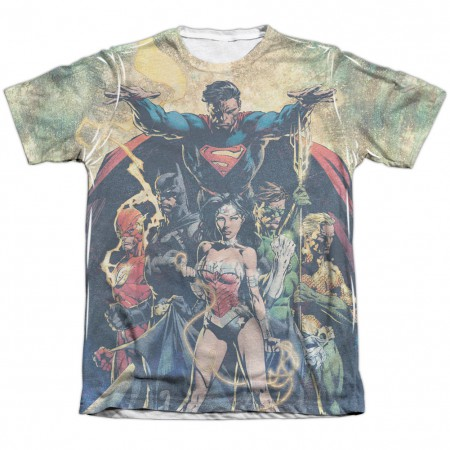 Justice League Power Sublimation T-Shirt
