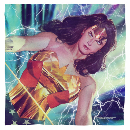 Wonder Woman Lightning Bandana