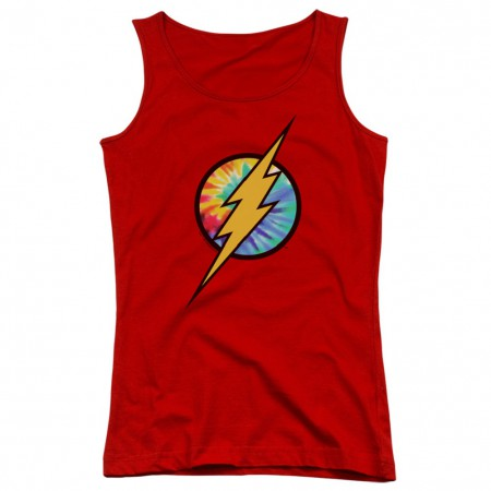 The Flash Tie Dye Logo Women's Tank Top