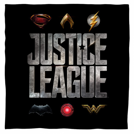 Justice League Movie Logos Bandana
