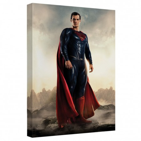 Justice League Superman 16x20 Canvas Print