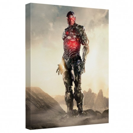 Justice League Cyborg 16x20 Canvas Print