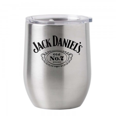 Jack Daniel's 16oz Stainless Steel Tumbler Cup