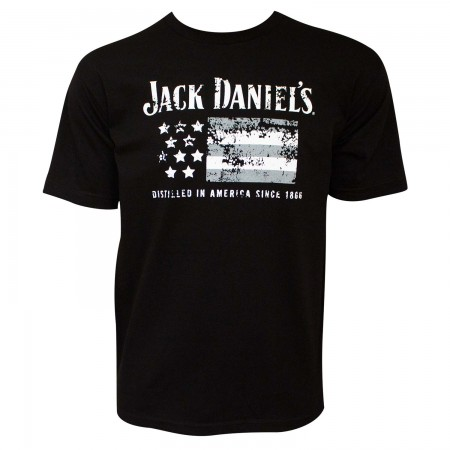 Jack Daniel's Distilled In America 1866 Men's Black T-Shirt
