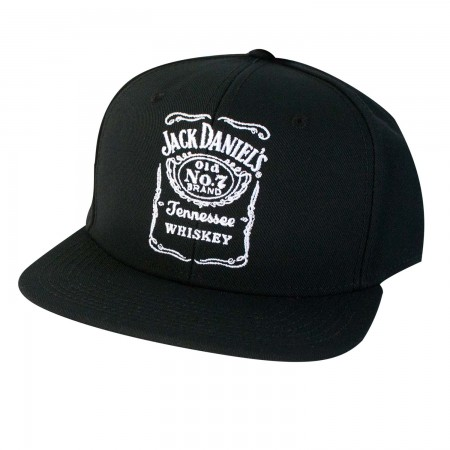 Jack Daniels Tennessee Whiskey Black Snapback Hat