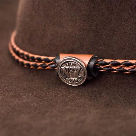 Jack Daniels Brown Cowboy Hat