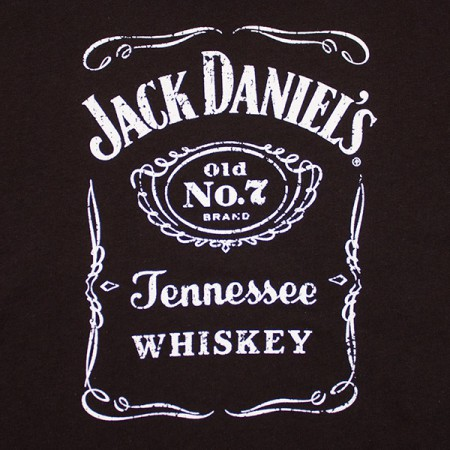 Jack Daniel's Classic Women's V-Neck Shirt - Black