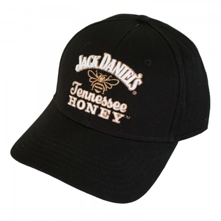 Jack Daniels Black Tennessee Honey Logo Hat