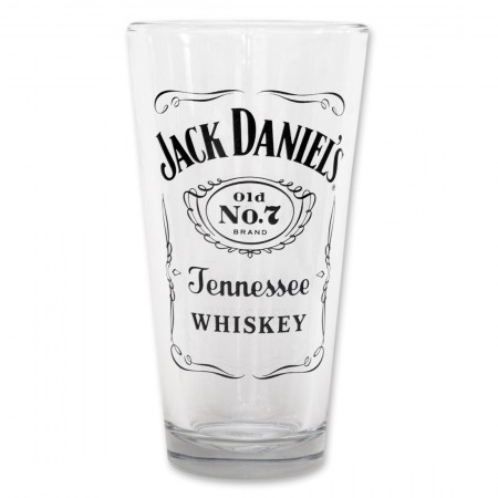 Jack Daniel's Old No. 7 Label Pint Glass