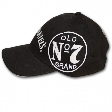 Jack Daniel's Old No. 7 Side Logo Adjustable Black Hat