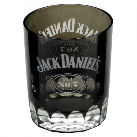 Jack Daniels Old No. 7 Double Old Fashioned Black Shot Glass
