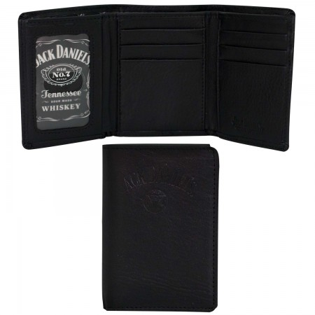 Jack Daniels Trifold Black Old No 7 Wallet
