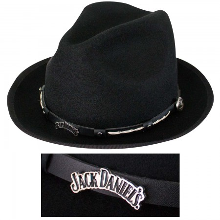 Jack Daniels Wool Water Repellent 2 Inch Brim Hat