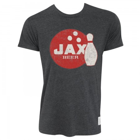 Jax Retro Brand Men's Gray T-Shirt