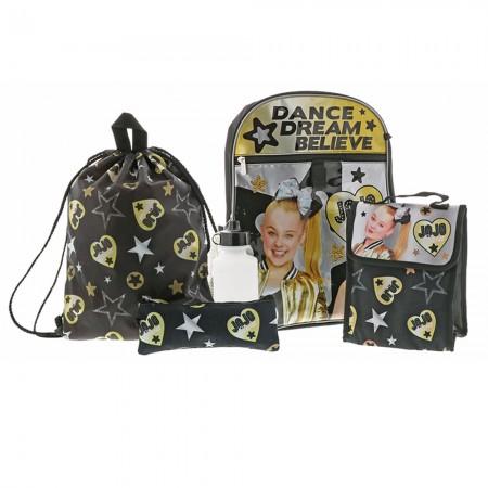 Jojo Siwa 5-Piece Backpack Travel Set