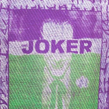 Joker Embroidered Frame Purple Tee Shirt