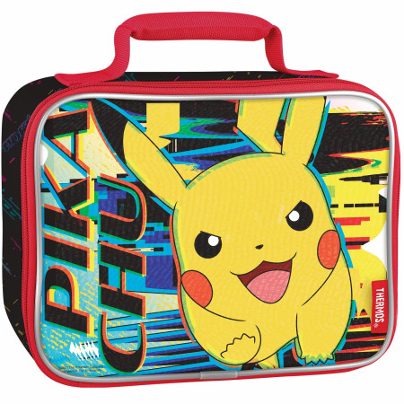 Pokemon Pikachu Thermos Insulated Lunch Box