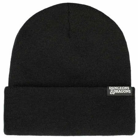 Dungeons and Dragons Chrome Logo Beanie