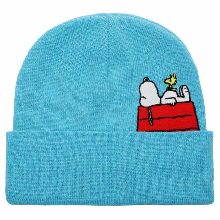 Snoopy and Woodstock Peanuts Peek-a-Boo Cuff Beanie