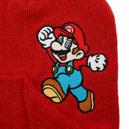 Super Mario Bros. Nintendo Peek-A-Boo Beanie