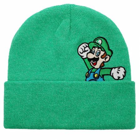 Luigi Nintendo Peek-a-Boo Beanie
