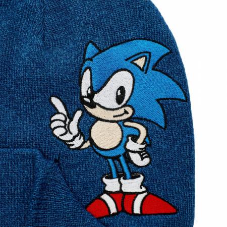 Sonic The Hedgehog Nintendo Peek-a-Boo Beanie