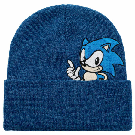 Sonic The Hedgehog Nintendo Peek-a-Boo Beanie