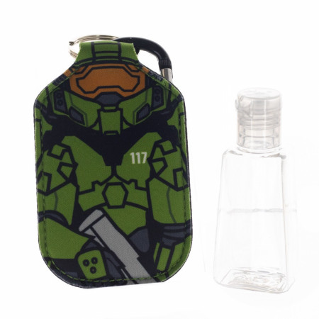 Halo Master Chief Neoprene Bottle Keychain