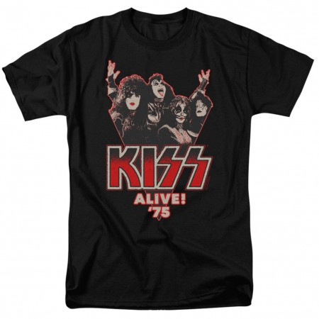 KISS Alive in 75 Tshirt