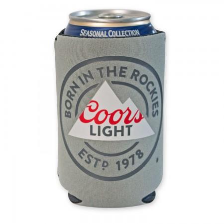 Coors Light Grey Can Cooler