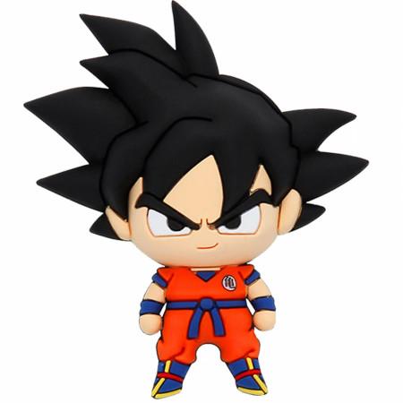 Dragon Ball Z Son Goku Chibi Character 3D Foam Magnet