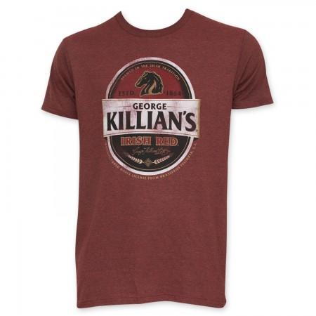 Killian's Irish Red Men's Red Tee Shirt