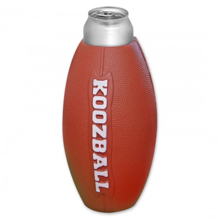 Koozball Football Beer Can Cooler