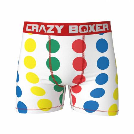 Twister Game Men's Boxer Briefs Shorts