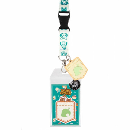 Animal Crossing Character All Over Lanyard With Sleeve
