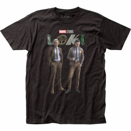 Marvel Studios Loki Series TVA Duo T-Shirt